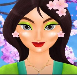 Asian Princess Magic Makeover