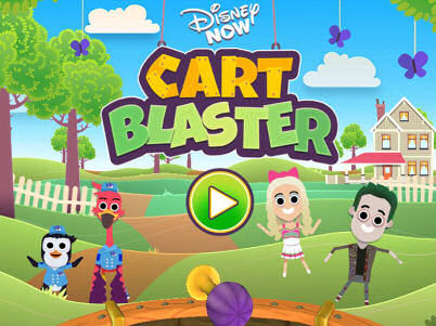 Disney Now Cart Blaster