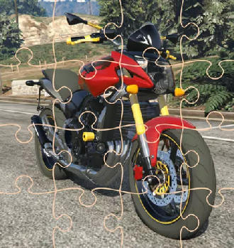 GTA Motorbikes Puzzle