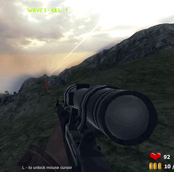 Soviet Sniper Game